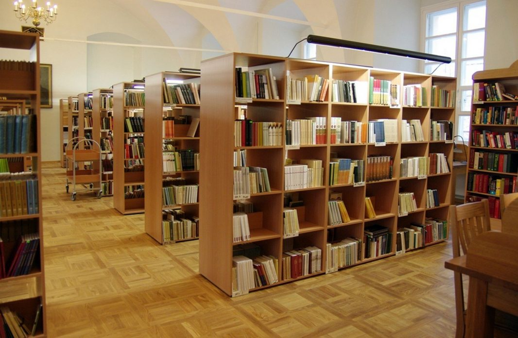 Knygų lentynos