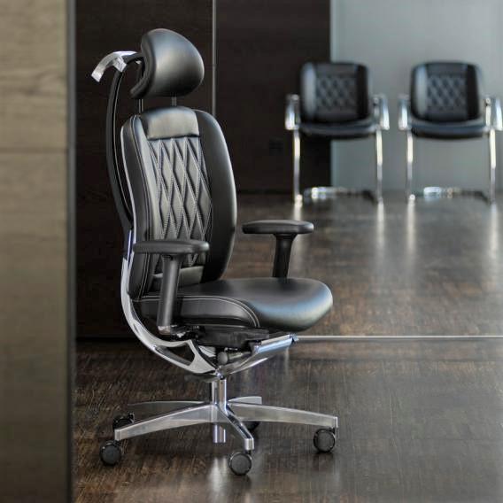 Ergonominė vadovo darbo kėdė || Vildika || Kėdžių centras