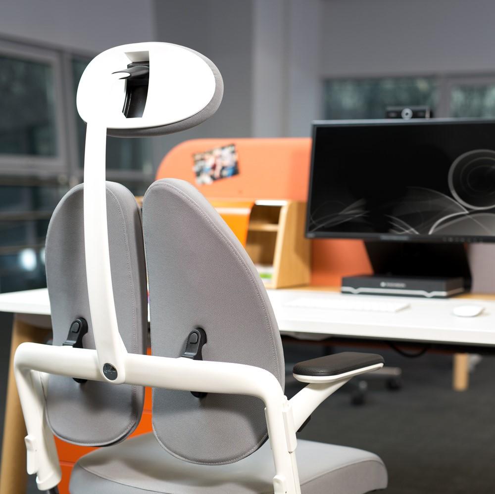 Ergonominė biuro kėdė su pogalviu || Kėdžių centras