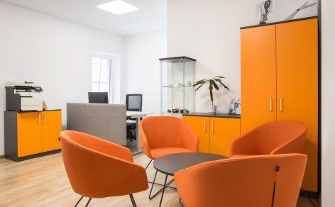 Minkšti biuro baldai Vildika
