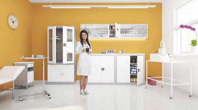 Medicininiai baldai || Baldai gydymo įstaigoms || Metaliniai baldai || Kėdžių centras