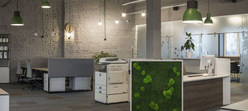 Biuro baldai Vildika