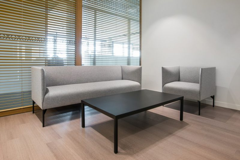 Minkšti biuro baldai