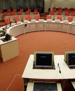 Konferencijų salės baldai