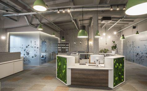 bschemical biuro baldai Vildika